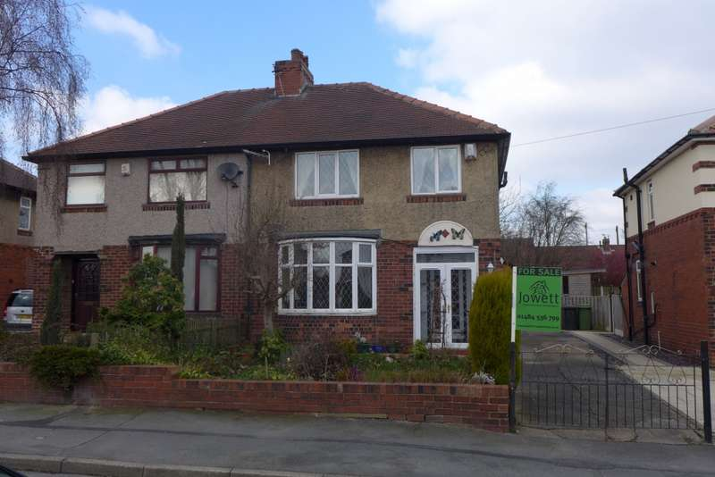 3 Bedrooms Semi Detached House for sale in Ghyllroyd Avenue, Birkenshaw, BD11