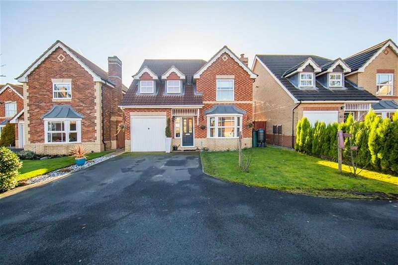 4 Bedrooms Detached House for sale in Cawburn Close, Haydon Grange, Newcastle Upon Tyne, NE7
