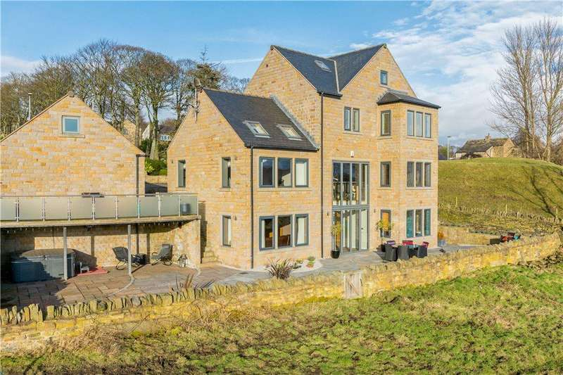 6 Bedrooms Detached House for sale in Barnsley Road, Flockton, Wakefield, West Yorkshire