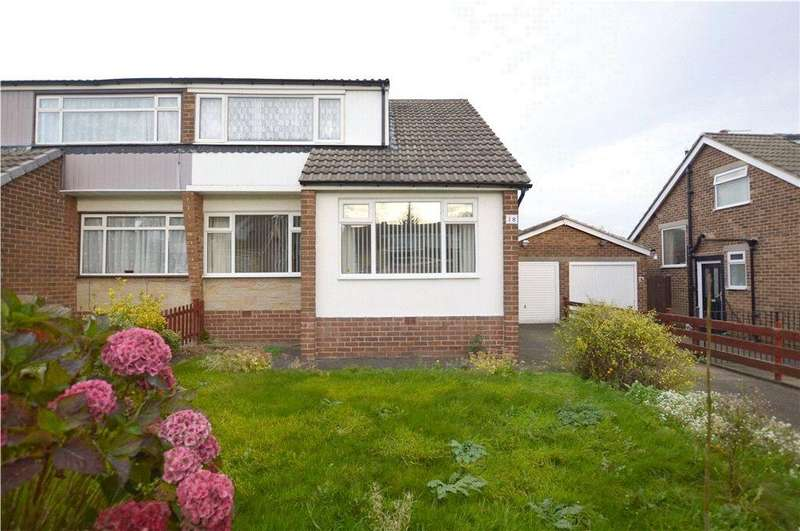 3 Bedrooms Semi Detached House for sale in Meadow Park Crescent, Stanningley, Pudsey, West Yorkshire