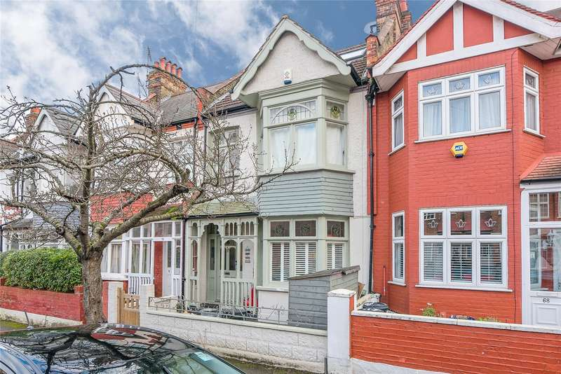 5 Bedrooms Terraced House for sale in Stuart Road, Wimbledon Park, London, SW19
