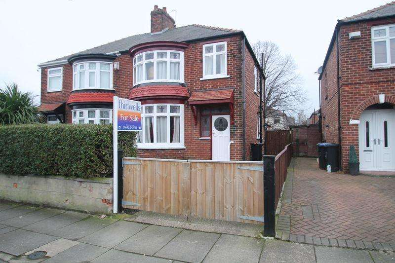 3 Bedrooms Semi Detached House for sale in Roseberry Road, Longlands