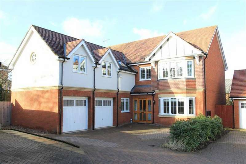 5 Bedrooms Detached House for sale in Abbot Close, Kirby Muxloe, Leicestershire