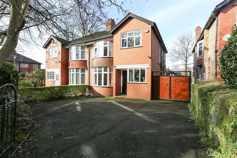 3 Bedrooms Semi Detached House for sale in Palatine Road, West Didsbury, Manchester