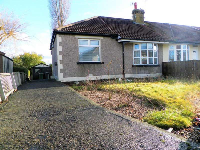 2 Bedrooms Semi Detached Bungalow for sale in Hawes Crescent, Bankfoot, Bradford, BD5 9AS.
