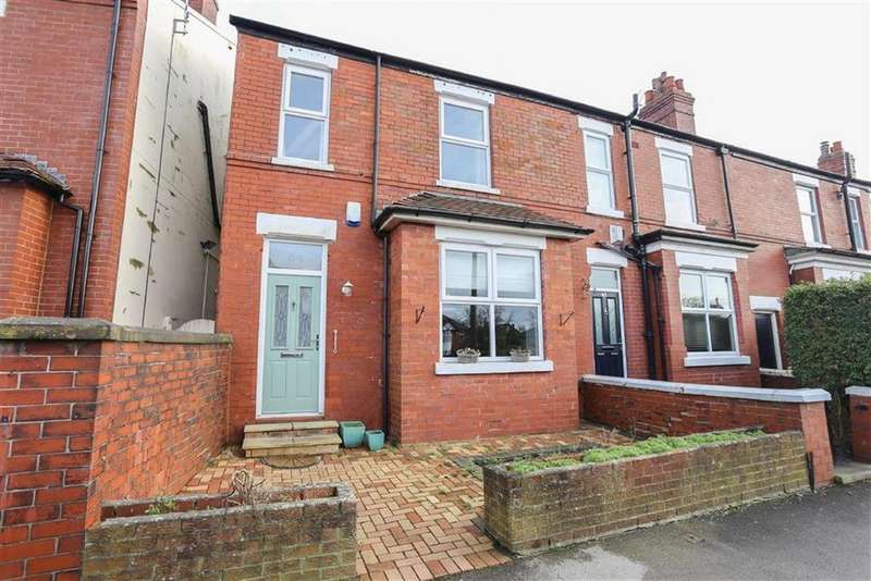 3 Bedrooms End Of Terrace House for sale in Heaton Road, Heaton Norris / Moor