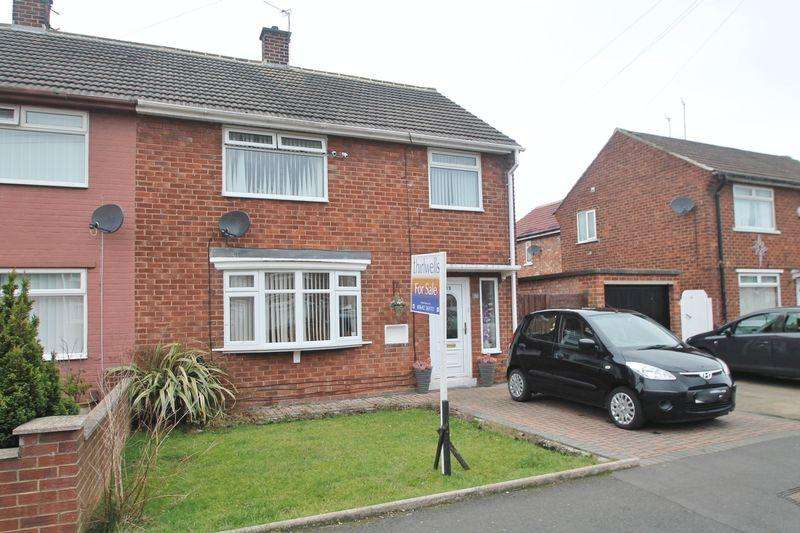 3 Bedrooms Semi Detached House for sale in Hylton Road, Billingham