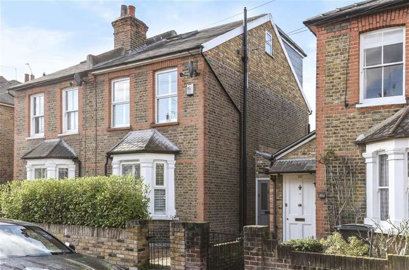 3 Bedrooms Semi Detached House for sale in Clifton Road, Kingston Upon Thames