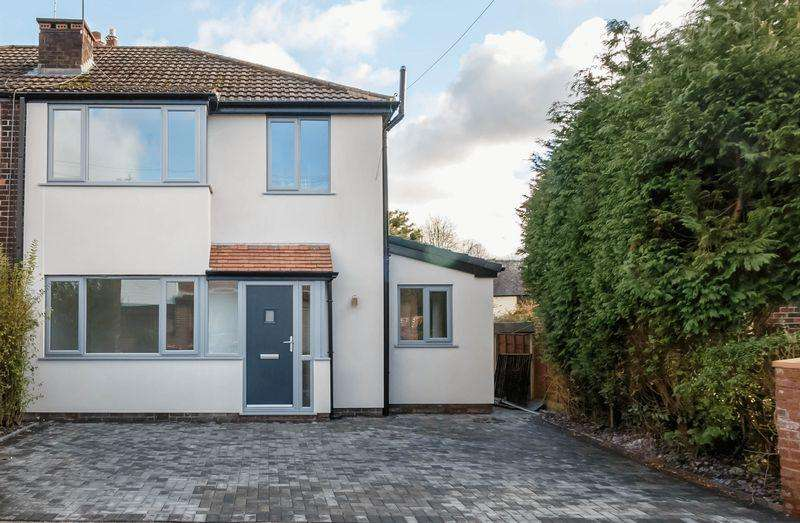 3 Bedrooms Semi Detached House for sale in Blandford Avenue, Manchester