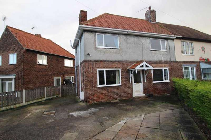 3 Bedrooms Semi Detached House for sale in 29 Ramsden Avenue, Langold