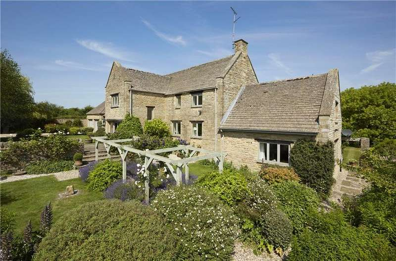 5 Bedrooms Detached House for sale in Taynton, Burford, Oxfordshire, OX18