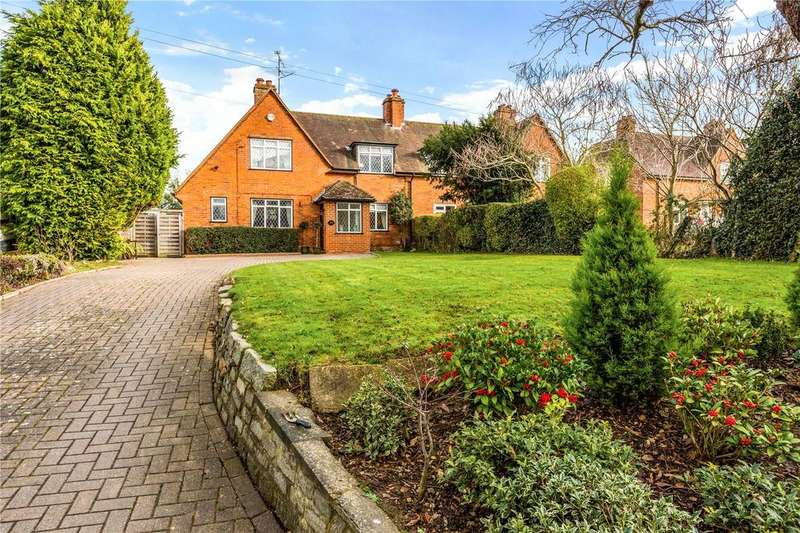 4 Bedrooms Semi Detached House for sale in Pound Lane, Sonning, Reading, RG4