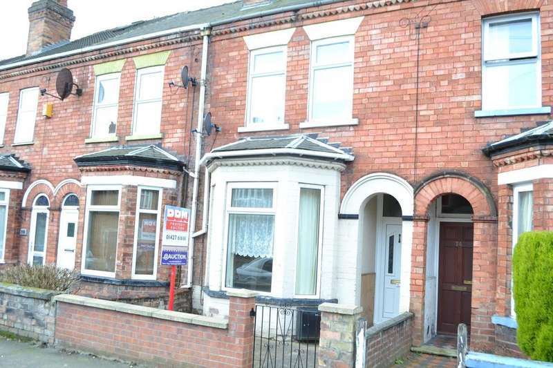 2 Bedrooms Terraced House for sale in Sandsfield Lane, Gainsborough, Lincolnshire, DN21