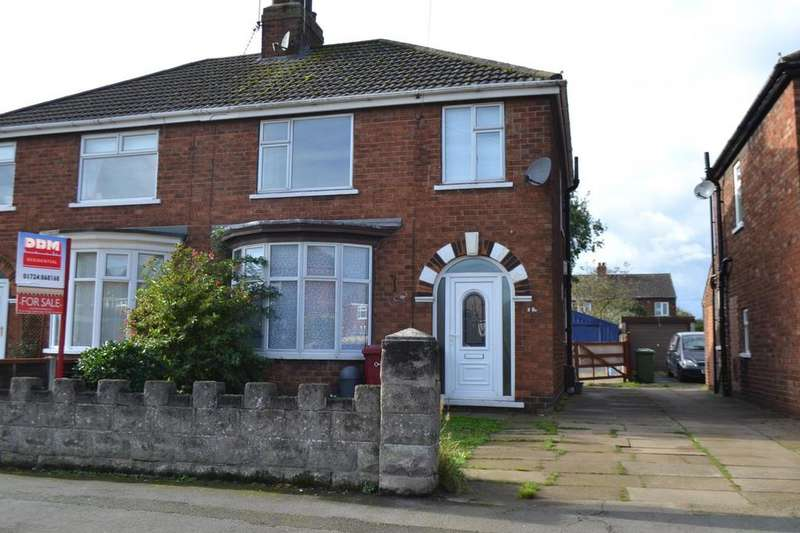 3 Bedrooms Semi Detached House for sale in Fulbeck Road, Scunthorpe, Lincolnshire, DN16