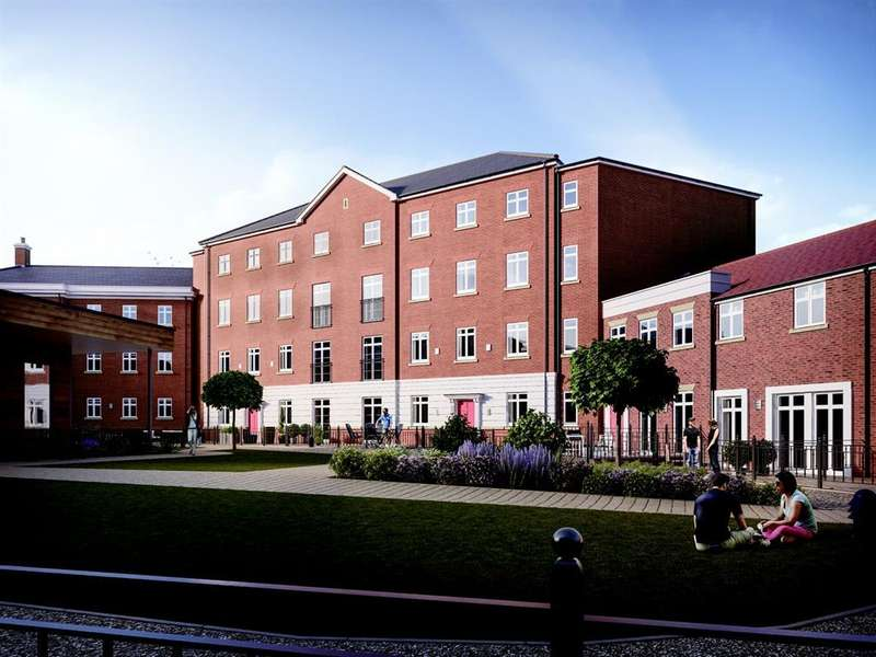 2 Bedrooms Apartment Flat for sale in Garden Square East, Abbotsbury Court Apt 22 Dickens Heath