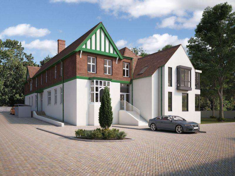 1 Bedroom Apartment Flat for sale in Plot 2 Newly converted one bedroom, ground floor apartment, The Rolls Building, Hereford Road, Monmouth