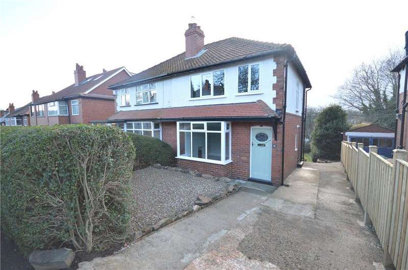 3 Bedrooms Semi Detached House for sale in Stainburn Road, Leeds, West Yorkshire