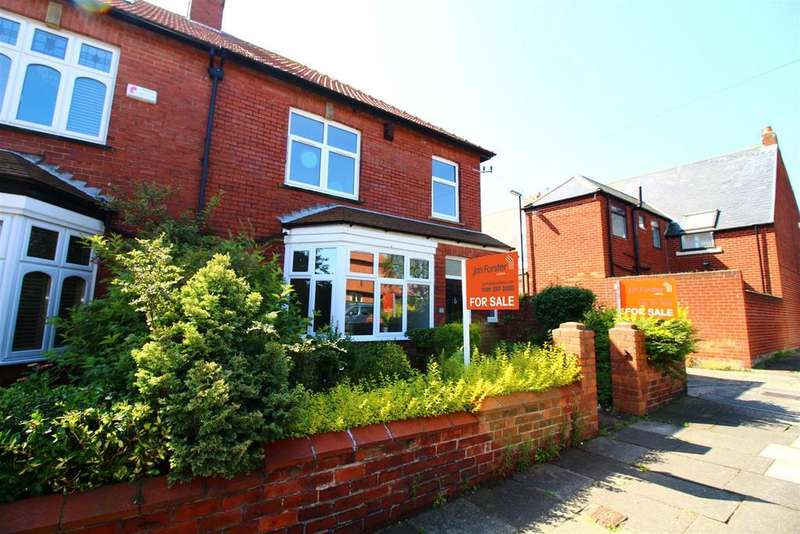 3 Bedrooms End Of Terrace House for sale in Dene Road, Tynemouth