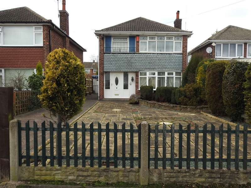 3 Bedrooms Detached House for sale in Walk Mill Drive, Hucknall, Nottingham