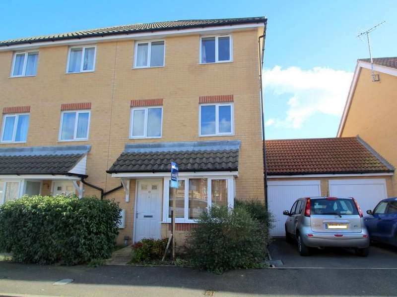 4 Bedrooms Semi Detached House for sale in Cheal Way, Wick