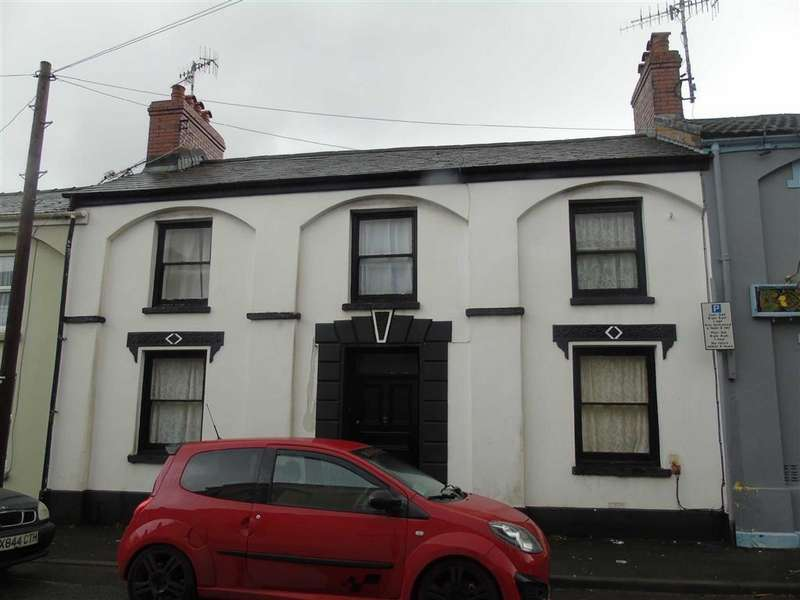 4 Bedrooms Terraced House for sale in Prospect Place, Llanelli