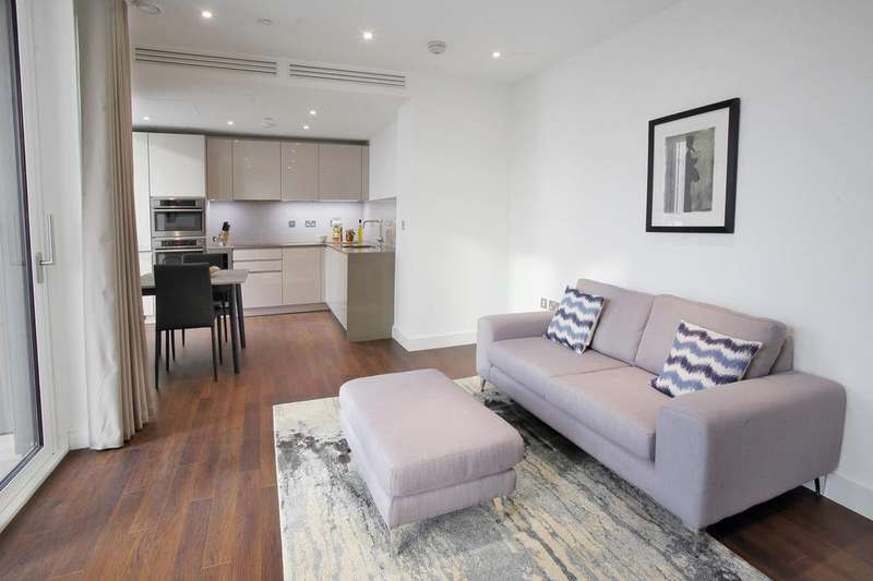 3 Bedrooms Flat for rent in Brent House,Wandsworth Road, London, SW8
