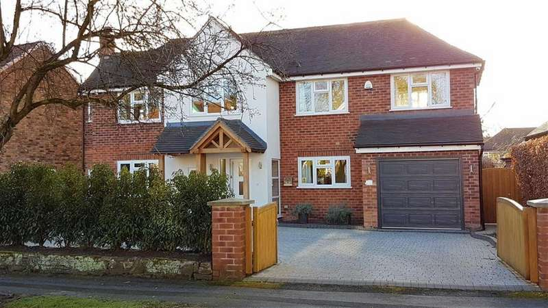 4 Bedrooms Detached House for sale in Broad Walk, Wilmslow