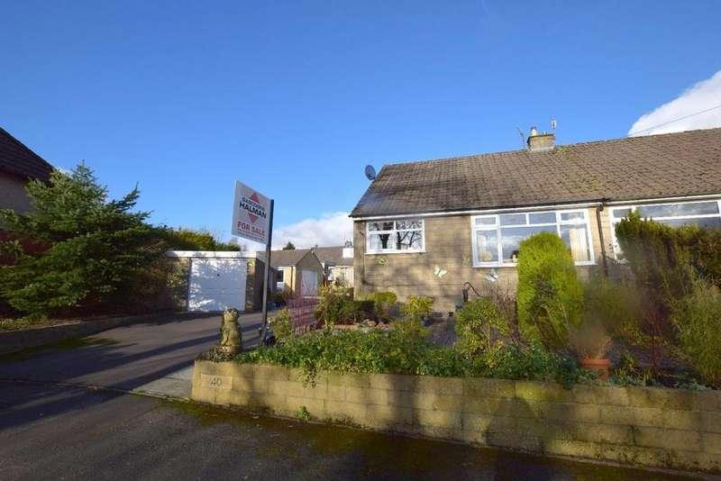 2 Bedrooms Semi Detached Bungalow for sale in Bagshawe Avenue, Chapel-en-le-Frith, High Peak