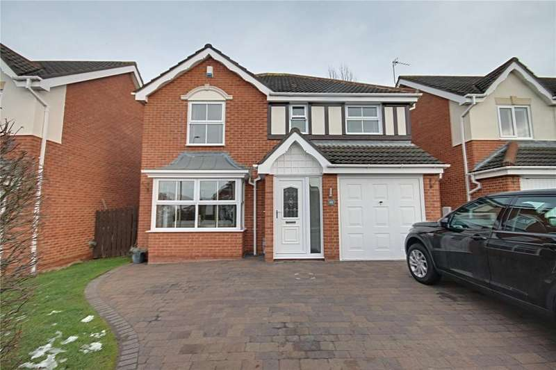 4 Bedrooms Detached House for sale in Hareshaw Close, Ingleby Barwick
