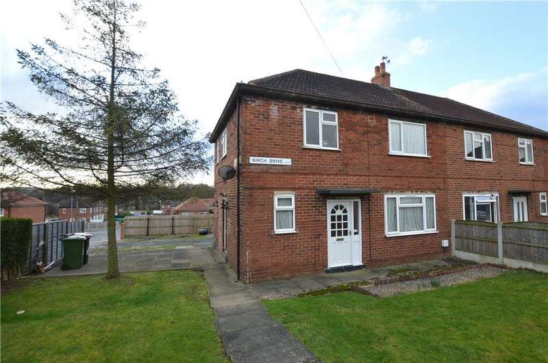 3 Bedrooms Semi Detached House for sale in Birch Drive, Kippax, Leeds, West Yorkshire