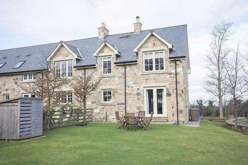 2 Bedrooms Semi Detached House for sale in Ellingham Hall, Chathill