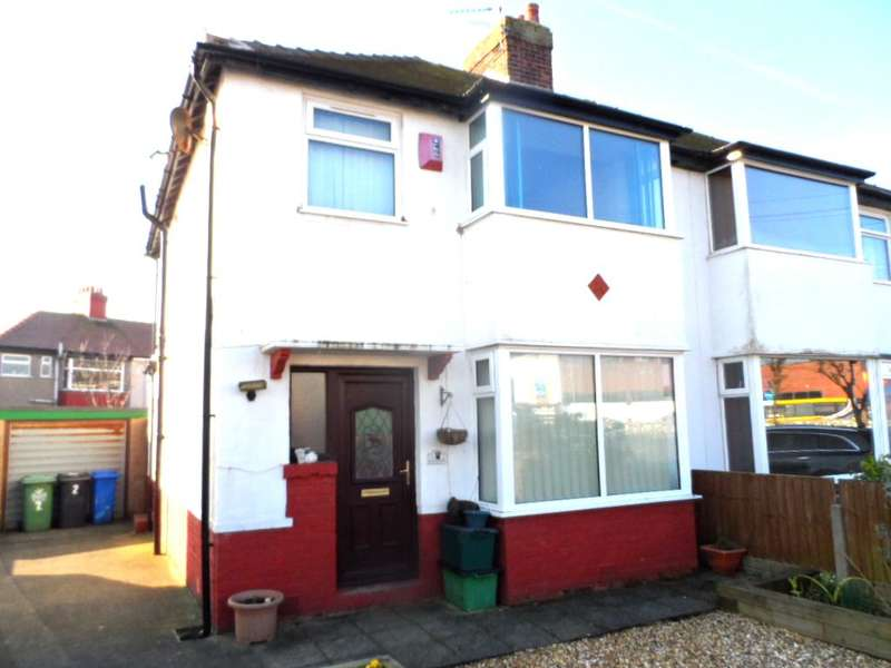 3 Bedrooms Semi Detached House for sale in Crescent Avenue, Thornton Cleveleys, FY5 3JE