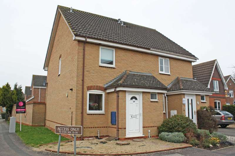 2 Bedrooms Semi Detached House for sale in Orwell Drive, Didcot