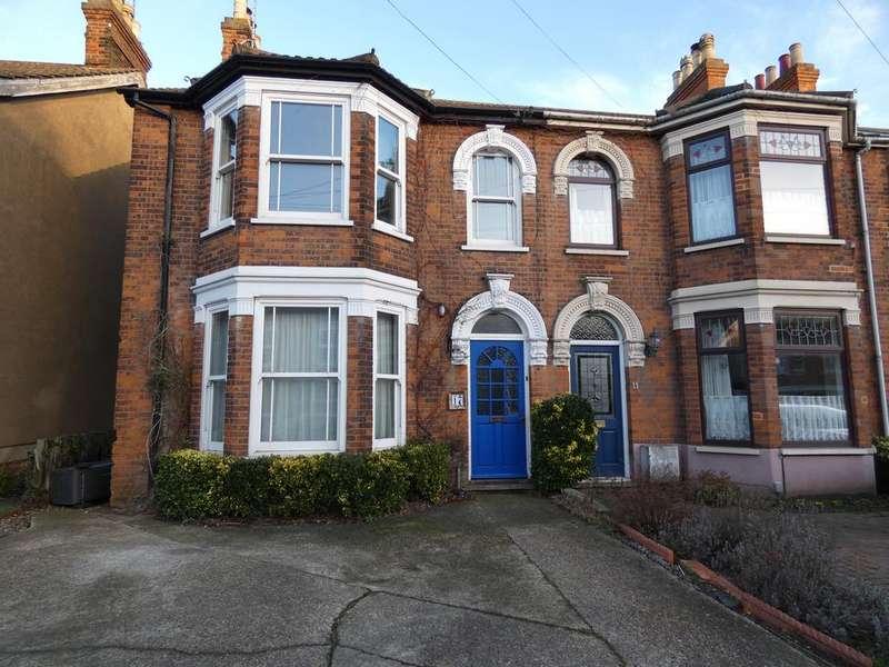 4 Bedrooms Semi Detached House for sale in Hatfield Road, Ipswich IP3