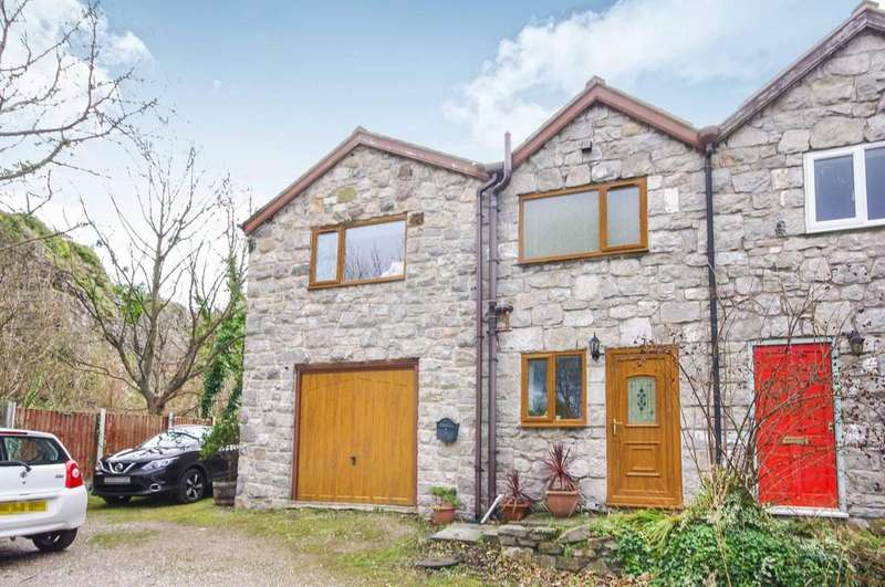 3 Bedrooms Semi Detached House for sale in Foel Road, Dyserth