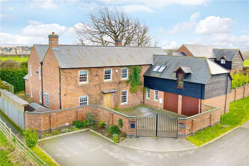 5 Bedrooms Detached House for sale in Canterbury Meadows, Kingsmead, Milton Keynes, Buckinghamshire