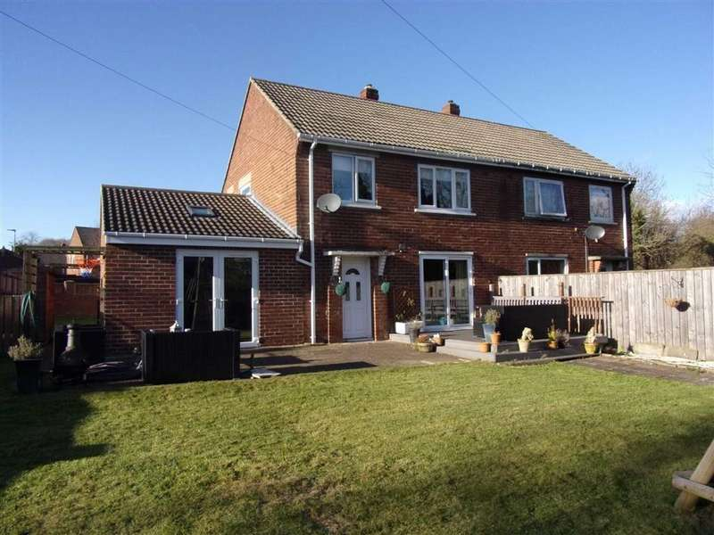 3 Bedrooms Semi Detached House for sale in Barkwood Road, Rowlands Gill, Tyne And Wear