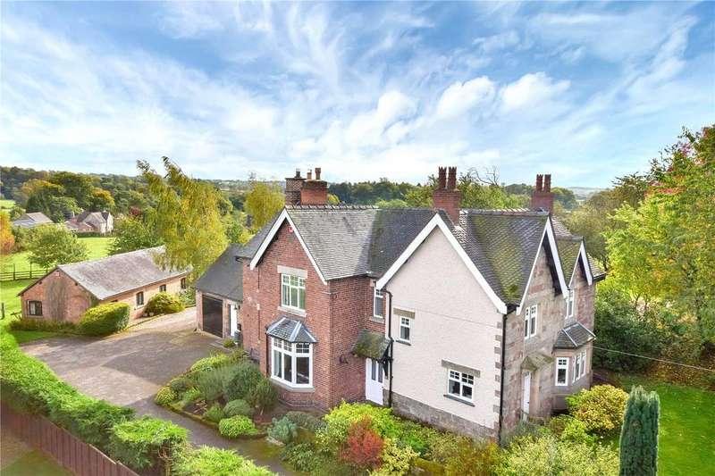 4 Bedrooms Detached House for sale in Ellastone, Ashbourne, Staffordshire