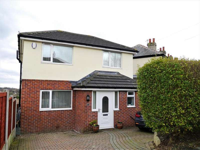 3 Bedrooms Detached House for sale in Kilroyd Avenue, Hunsworth, BD19 4ED
