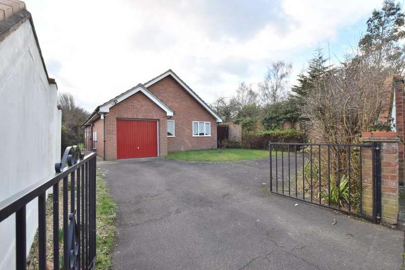 3 Bedrooms Detached Bungalow for sale in Wilbye Close, Colchester, CO2 9AD