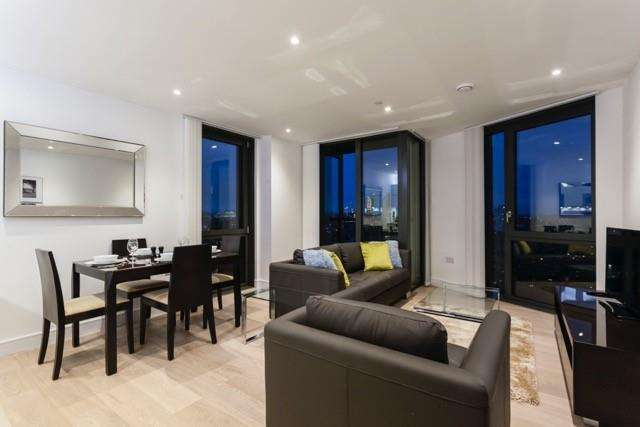 2 Bedrooms Flat for sale in Parliament House, 81 Black Prince Road, Nine Elms, London SE1