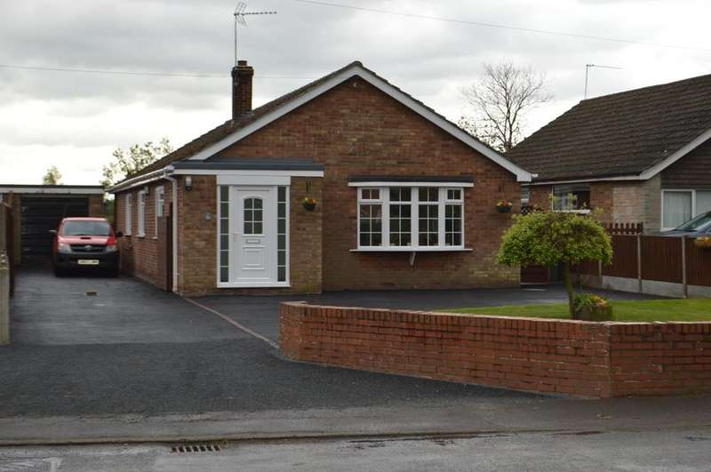 3 Bedrooms Detached Bungalow for sale in Morton Road, Laughton, Gainsborough, Lincolnshire, DN21