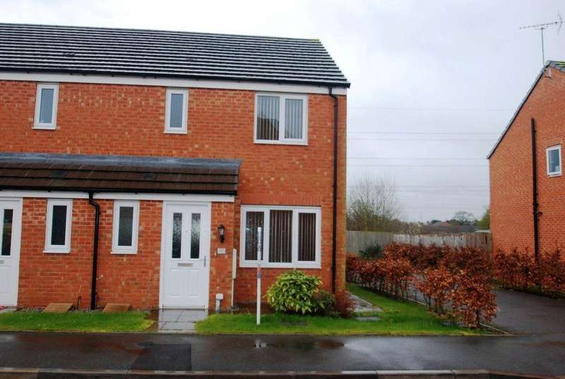 3 Bedrooms House for rent in Fieldhouse Way, Stafford, ST17 4FH