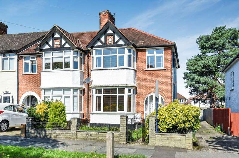 3 Bedrooms End Of Terrace House for sale in Woodside Avenue, Chislehurst, Kent, BR7 6BX