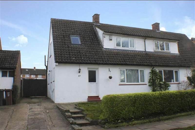 3 Bedrooms Semi Detached House for sale in Chalkdell Fields, St Albans, Hertfordshire