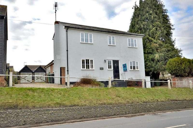 4 Bedrooms Detached House for sale in Midsummer House, Belmont Hill, Newport, Nr Saffron Walden