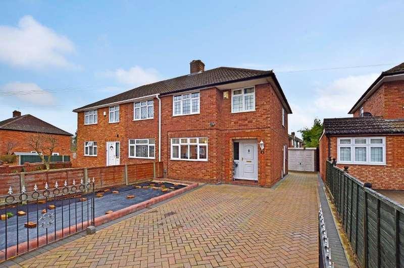 3 Bedrooms Semi Detached House for sale in Putteridge Road, Putteridge, Luton, LU2 8HG