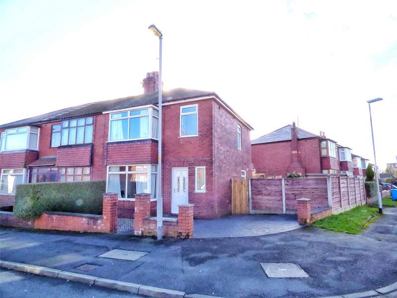 3 Bedrooms End Of Terrace House for sale in Oak Avenue, Royton, Oldham, Greater Manchester, OL2