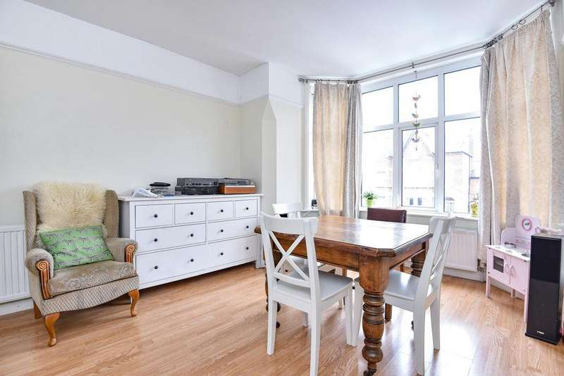 2 Bedrooms Flat for sale in Creffield Road, Acton