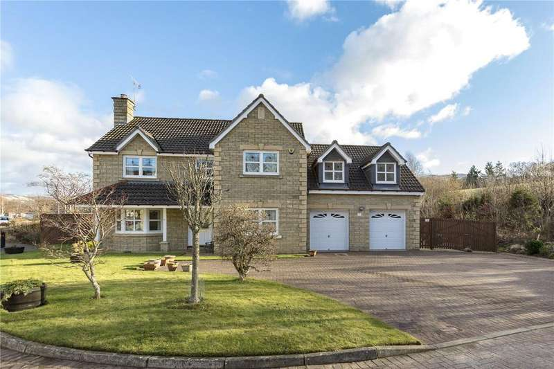 5 Bedrooms Detached House for sale in Whitehaugh Park, Peebles, Scottish Borders